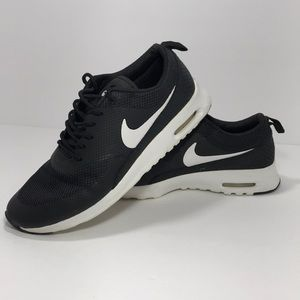 Nike Air Max Thea Black and white size 9